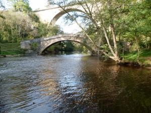 Les deux Ponts à Pierre-Perthuis